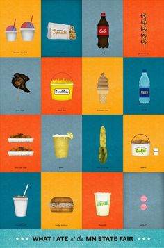 Brian Danaher ::: Illustration / MN State Fair #illustration #food