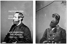 It's Nice That : Civil War heroes with their faces falling off courtesy of Manuel Bienbacher #bienbacher #books #manuel