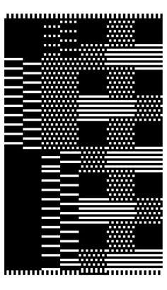 Dante Carlos | Foragepress.com #tribal #pattern #textile #pixel