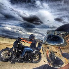 Ride motorcycles have fun! @simple.___.man keeping it real. #RideFarRideFree Bobber Chopper Harley Davidson Motorcycle Lifestyle Custom Cult
