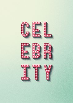 Celebrity #celebrity #lighted #sign #lights #type