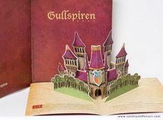 Gullspiren Pop Up Brochure #pop #up #popup #3d #brochure