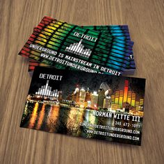 Detroit Business Card Designer