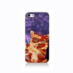 Trippy Pizza Cat iPhone case #phonecase #design