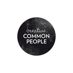 Creative Common People: ccp #logo #design #retro #vintage
