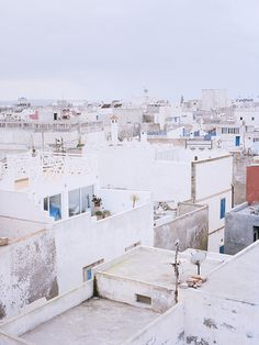 Roofs, Morocco, 2012