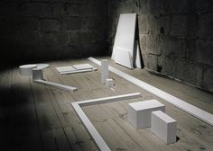 Units for Reconstruction installation by Miguel Vieira Baptista #installation
