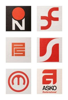 Friday find: Scandinavian logos from the 1960s & 70s #logo #1960s #scandinavian #1970s