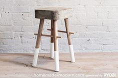 credit: homemade modern.com[http://homemade modern.com/wp content/uploads/2013/ep8b/hmm_ep8b_bucketstool_option3.jpg] #diy