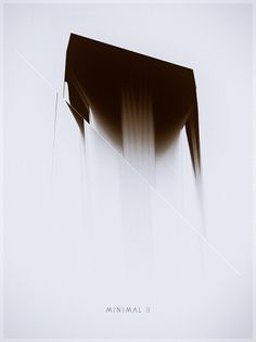 Minimal II / III on the Behance Network #cover #abstract #minimal