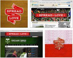Spread the Love Studio Jelly #branding