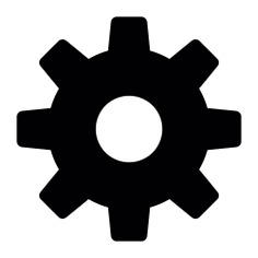See more icon inspiration related to cog, gear, configuration, work tools, settings, options and interface on Flaticon.