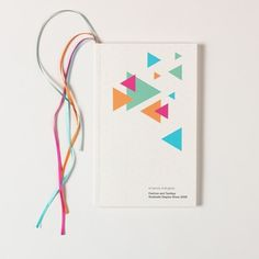 book #scale #book #geometric #cover #triangles #overprint #fluroscent