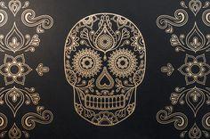 Anatomy Boutique Skull wallpaper_3 #illustration