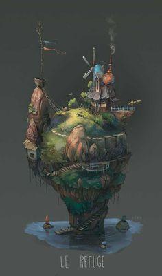 Illustrations by Pierre-Antoine Moelo #inspiration #illustration #art