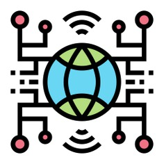 See more icon inspiration related to global, business and finance, connected, scheme, network, circles, networking, business and connection on Flaticon.