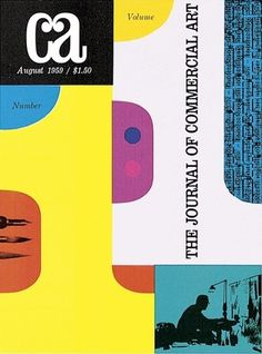1950s CA #design #graphic #publication