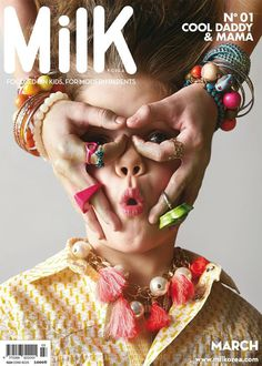Bienvenue au MilK Corée ! Welcome to MilK Korea ! #magazine #cover design #inspiration #poster