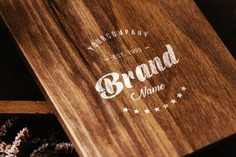 Logo on wooden table mock up Free Psd. See more inspiration related to Logo, Mockup, Template, Table, Web, Website, Mock up, Wooden, Templates, Website template, Logo template, Mockups, Up, Web template, Realistic, Real, Web templates, Mock ups, Mock and Ups on Freepik.