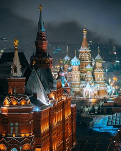 Striking Urban Landscapes in Moscow by Ilya Vorobyev