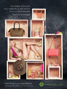 Piperlime Spring 2012 Campaign   Graphis