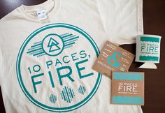 10 Paces, Fire Re-brand and Identity and Collateral Image