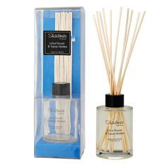 Fragrant Reed Diffuser Lotus Flower & Topaz Water, 125 ml