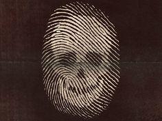 Dribbble - Death Finger Print by Von Haggen.