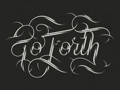 Typeverything.comGo Forth by Bart Vollebregt. #typeverything #bart #comgo #forth #vollebregt
