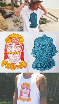 #illustrated #tshirts