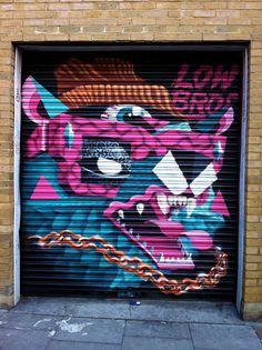 Low Bros #character #mural