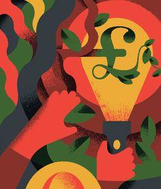 Economia Magazine I - Aron Vellekoop León #illustration
