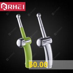 Seven-hole #Nozzle #Wash #Flusher #Spray #Gun #for #Women #- #DARK #GREEN #PUSH