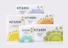 Your Baby Will Love These Eco-Friendly Nappies — The Dieline - Branding & Packaging Design