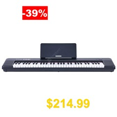 TheONE #Keyboard #Air #61 #Key #Ultra-thin #and #Portable #Electronic #Organ #from #Xiaomi #youpin #- #BLACK