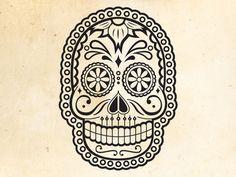 Illustration by Meric Karabulut - muertos #illustration #skull