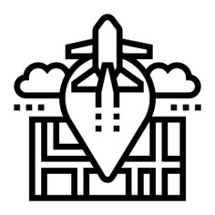 See more icon inspiration related to journey, trip, maps and location, route, navigation, airplane, location and gps on Flaticon.
