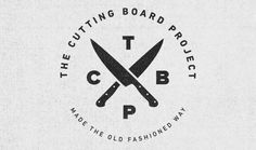 The Cutting Board Project #logo #typography