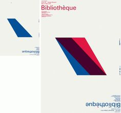 Bibliothèque – Brand New Website | September Industry #bibliotheque #event #poster