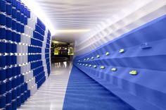 Award shelf -- Nike Camp Victory / Skylab Architecture #architecture #office
