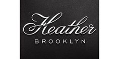 Eight Hour Day » Blog #logo #brooklyn #white #script #black #heather #dimension #ehd