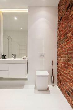 White Loft by Konastantyn Kaschuck #interiors #bathroom