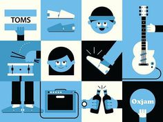 Ryan Chapman TOMS #illustration #minimal