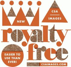 CSA / Flat File #images #crown #free #retro #royalty #csa #vintage #type