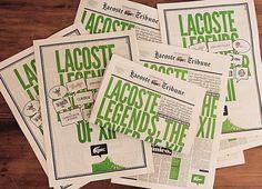 Lacoste Legends, POGO | art & design boutique #illustration #design #graphic