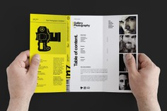 Image result for yellow photography brochure