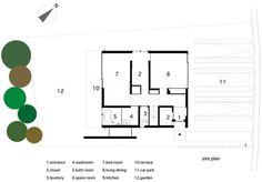 N House by TOFU #houses #drawings #architecture #plans