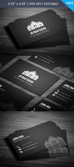 Free Real Estate Agency Business Card Template