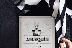 Diseño Menu para cocktail bar Made by gelpi