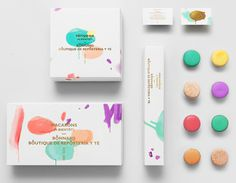 Bonnard #packaging #color #branding #playful